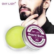OMY bayan erkek organik sakal yağı balsamı bıyık balmumu şekillendirici balmumu nemlendirici yumuşatma beyler doğal sakal balsamı sakal bakım