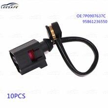 10pcs Rear Brake Pad Wear Sensor 7P0907637C 95861236550 for VW Touareg 7P5 7P6 PORSCHE Cayenne 92A Panamera 970 Brake Line Cord