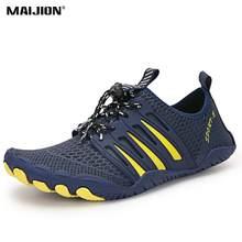 Chaussures de Wading à séchage rapide, chaussures d'eau respirantes, baskets amont de plage pour Sports de plein air