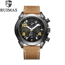Watches Men Sports Luxury Leather Brand Watches Waterproof Quartz Men Military Wrist Watch Clock Male Relogio Masculino 2018 все цены