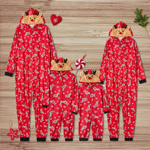 Family Christmas Pajamas Set Xmas Pjs Matching Pyjamas Adult Kids Sleepwear Clothes Outfit E0313