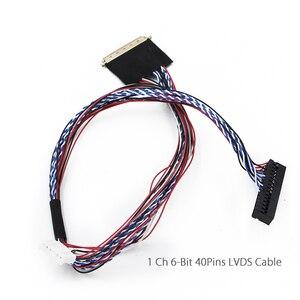 Image 5 - Mit 1Ch 6Bit 40Pin LVDS Kabel MSD358V 5,0 Android 8,0 1G + 4G 4 Kerne Intelligente Smart Wireless netzwerk WI FI TV LCD Treiber platine