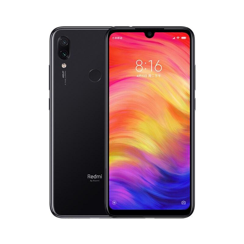 Global ROM Xiaomi Redmi Note 7 4GB RAM 128GB ROM 3.0 QC Mobile Phone Snapdragon 660 Octa Core 48MP Dual Camera 4000mAh cellphone