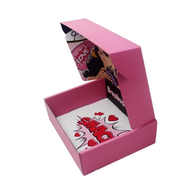 Напечатанные на заказ цветные гофрированные бумажные почтовые коробки с логотипом, картонные коробки для детской одежды упаковочные короб