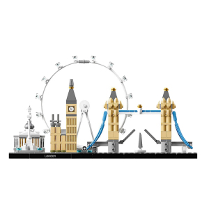 Image 4 - Architecture Building Set London Big Ben Tower Bridge Model Building Block Bricks Toys Compatible With Lepining City