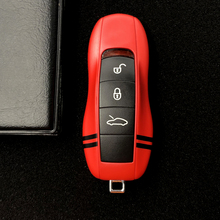 Car key case cover for 911 971 9YA 718 Porsche Panamera Cayenne Macan Cayman Boxster shell
