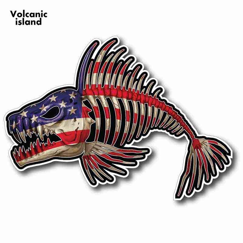 Interruptor de luz de peces Cráneos /& pegatina vinilo piel cubierta de graffiti