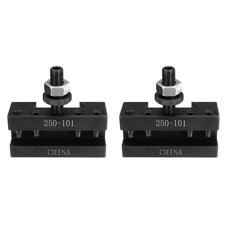 2PCS Quick Change Turning and Facing Holder 250 101 for Lathe Tool Post HolderTool Holder   -
