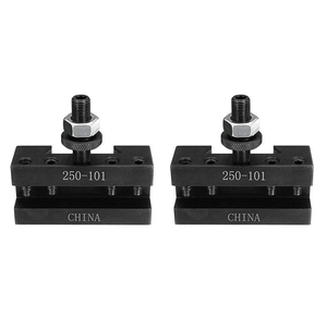 Image 1 - 2PCS Quick Change Turning and Facing Holder 250 101 for Lathe Tool Post Holder
