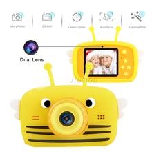 Dual Lens Cute Kids Mini Camera 1080P Children Digital Video Photo