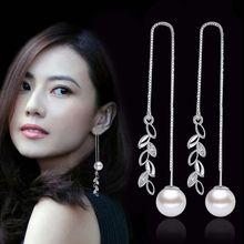 NEHZY – bijoux longs en argent sterling 925 pour femme, perles de haute qualité en zircone cubique, à la mode, nouvelle collection