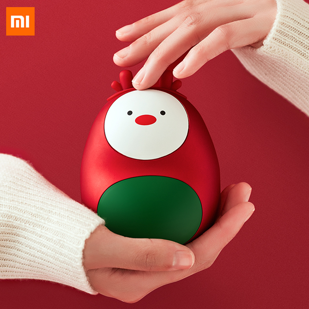 Xiaomi Mijia 3 Life Mini Cute Hand Warmers Portable Winter Body Handy Warmer USB Rechargeable Pocket Hand Heater For Smart Home