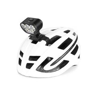 Image 3 - MAGICSHINE MONTEER 6500S ZEUS New Bike Front Light XHP50.2 *3 XML2 *2 LEDs max 6500 lumen bike light 7.2V 10000mAh battery pack