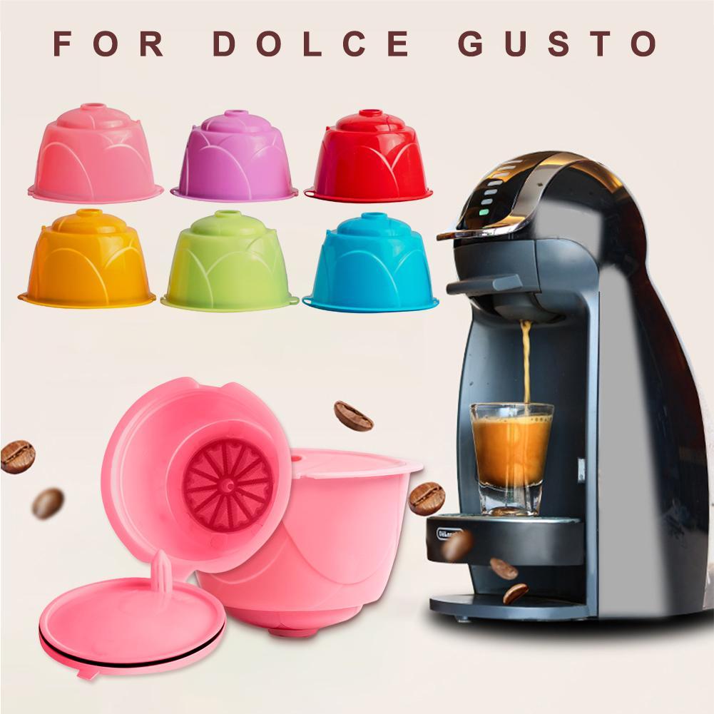 Пластиковый многоразовый фильтр для кофе, Капсульная чашка для кофе, кофейные продукты, кухонные аксессуары, Новинка