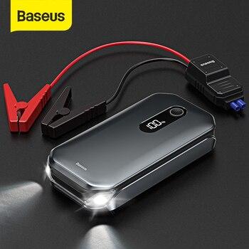 Пусковое устройство для автомобиля Baseus, портативное зарядное устройство 12000 мАч на Л/6 л 1