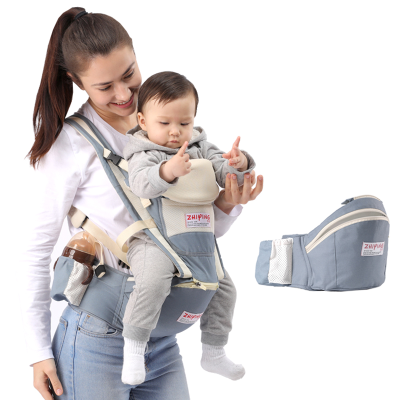 Front Facing Ergonomic Hipseat Baby Carrier Backpack For Baby Waist Carriers New Born Sling Wrap Kangaroo Carrying For Small