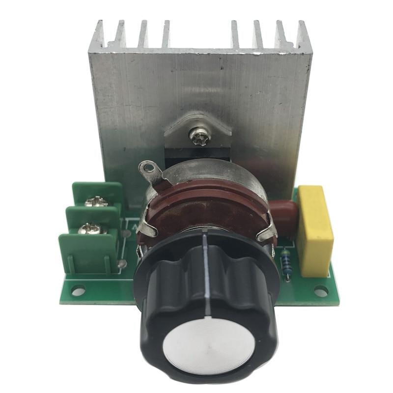 4000W 220V Spannung Dimmer Elektromotor Drehzahlregler Guter Betrieb Durable