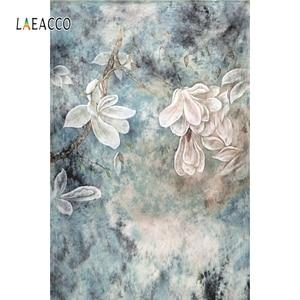 Image 2 - خلفيات استحمام للرضع من Laeacco زهور تتفتح الأشجار للأطفال حديثي الولادة خلفيات تصوير للأطفال الحوامل صورة Photophone