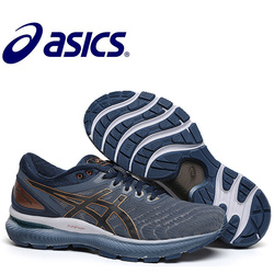 Original Asics Gel-Nimbus 22 männer Laufschuhe Atmungs Jogging Sport Schuhe Sneaker Asics Gel Nimbus 22 Asics schuhe Gel