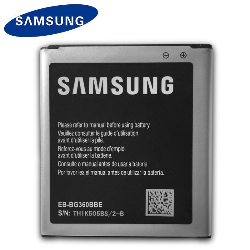 Samsung Original Phone Battery EB-BG360BBE For Samsung Galaxy Core Prime G360 G361 G360V G3608 G360H 2000mAh Batteries