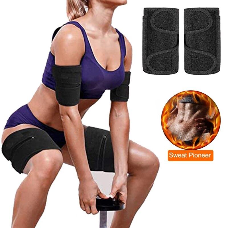 Arm Trimmer Leg Trianer Shaper Compression Arms Weights for Women Flabby Slimming Fat Burning Neoprene Sweat Sauna Wrap Bands|Waist Cinchers| - AliExpress