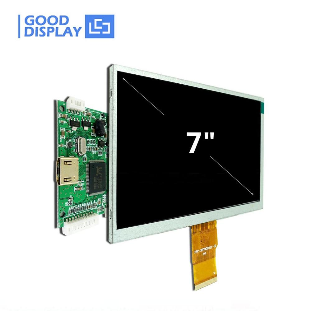 7.0 Inch High Resolution 1024x600 TFT LCD Display Module HDMI For Raspberry Pi (Optional Touch Screen)