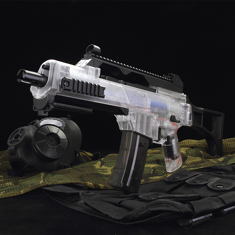 G36C Toy Water Gun Electric Burst Toy Gel Water Ball Guns For Children Out Door Hobby