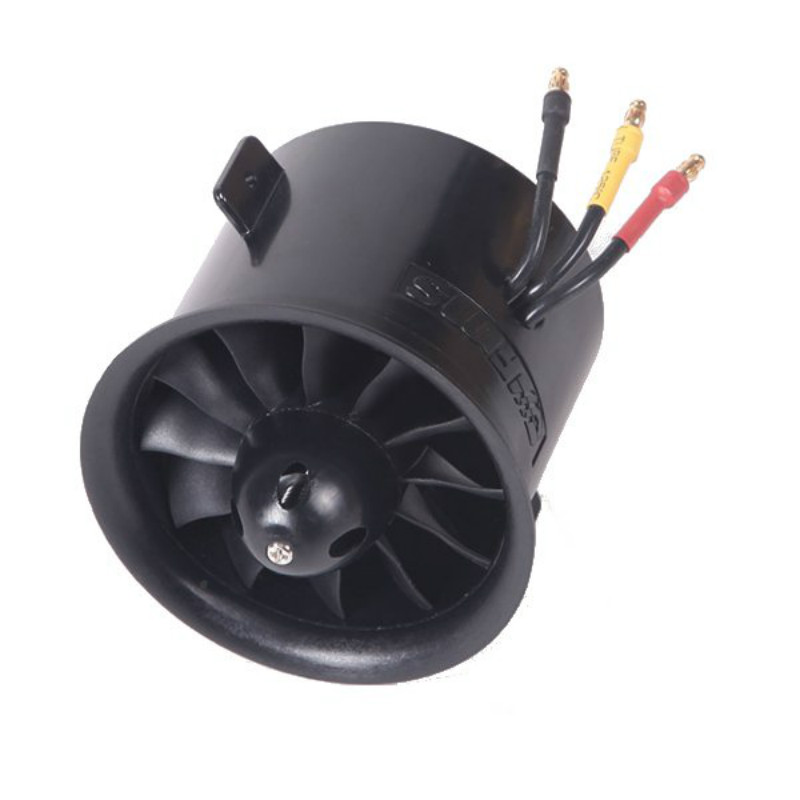 FMS 70mm 12 Blades Ducted Fan EDF With 2845 KV2750 Motor for RC Airplane Ducted Fan Plane image
