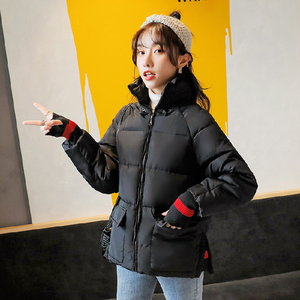 Image 3 - new autumn and winter down jacket female loose ultra short coat firecotton padded clothes fashion studen