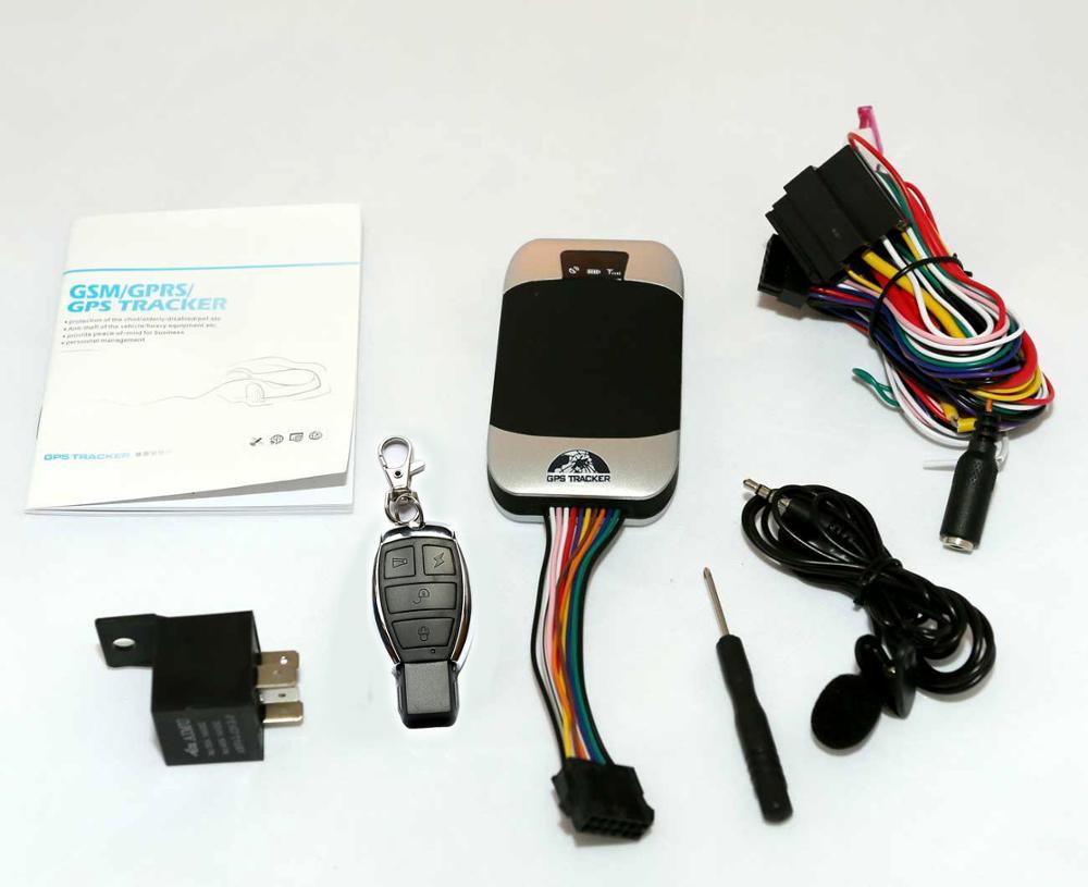 Устройство слежения за транспортными средствами GPS303G, четырехдиапазонный GPS GSM GPRS трекер в реальном времени, Google maps, бесплатные услуги веб-пл...