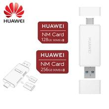 Карта памяти Huawei NM, карта 256 ГБ, карта памяти подходит для карт памяти NM/Micro/SD, USB, устройство для чтения карт памяти Apple на TF