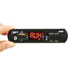 Image 2 - MP3 WMA WAV Drahtlose Bluetooth Decoder Board USB AUX 3,5 MM Auto Audio MP3 Player Modul TF FM Decoder Board mit Fernbedienung Für Auto