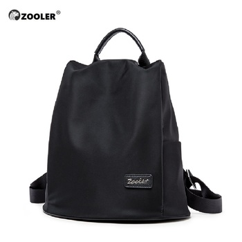 ZOOLER casual women anti-theft backpack high quality vintage backpacks female large capacity school shoulder travel bag d132