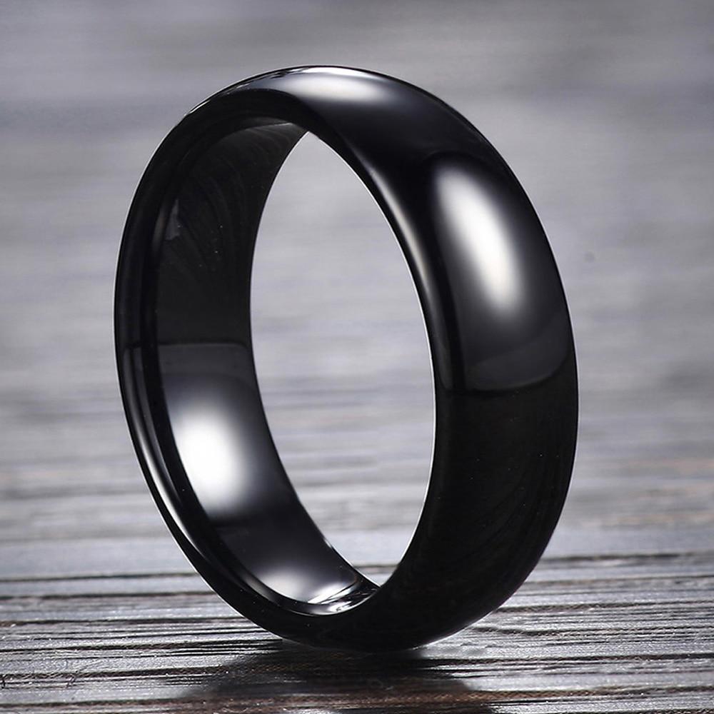 Новинка 2021, черное керамическое кольцо с радиочастотной идентификацией 125 кГц или 13,56 МГц, умное модное кольцо с чипом uid для мужчин и женщин