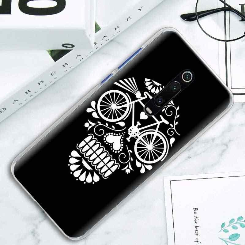 Solo Giro In Mountain bike Biciclette Copertura di Caso per Xiaomi Mi Nota 10 Pro 9 9T 10 Lite Poco X2 f2 Pro A1 A2 A3 8 Lite Duro Della Copertura