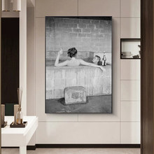 Old Movie Black and White Canvas Painting Modern Prints and Posters Cuadros Wall Art Picture for Living Room Home Decor Unframed