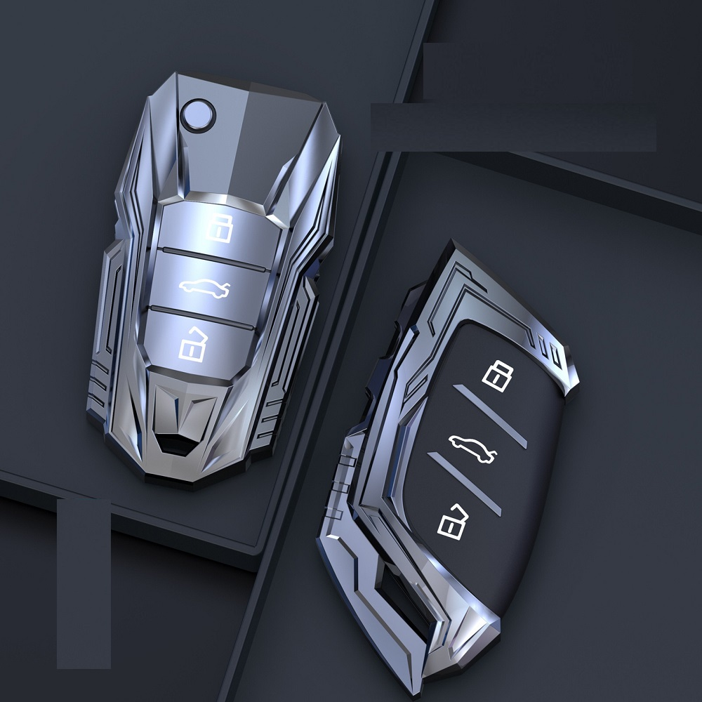 Zinc Alloy Car Remote Key Case Key cove for MG MG6 ZS HS EV EZS EHS mg3 gs mg7 GT 2015 2016 2017 2018 2019 2020 Auto Accessories