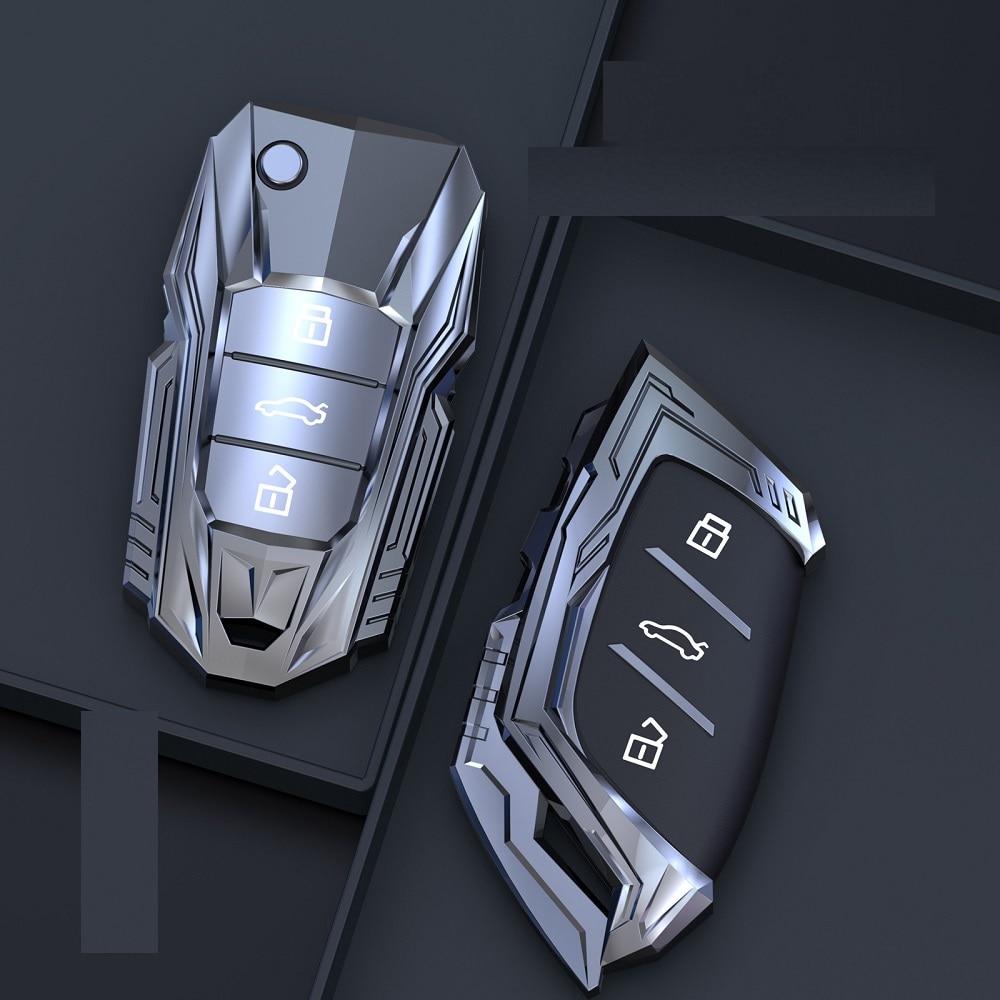 Zinc Alloy Car Remote Key Case Key cove for MG MG6 ZS HS EV EZS EHS mg3 gs mg7 GT 2015 2016 2017 2018 2019 2020 Auto Accessories