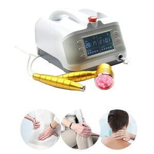 Equipo de terapia láser profesional de 650nm para aliviar el dolor de las heridas y las articulaciones, instrumento terapéutico para el frío