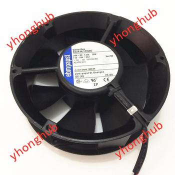 ebmpapst 6224 N/17HAU 6224N/17HAU DC 24V 1.25A 172x172x51mm Server Cooling Fan цена 2017