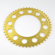520 Chain 41T 47T Motorcycle Rear Sprocket For Aprilia 125 ETX Tuareg 650 Pegaso BMW F650 Dakar G650 GS Husqvarna 650 TR Terra(China)