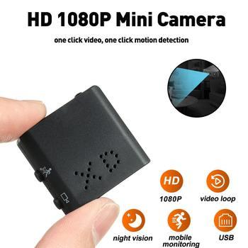 HD 1080P Mini caméra DVR caméscope infrarouge Vision nocturne micro petite caméra détection de mouvement boucle enregistrement vidéo enregistreur vocal