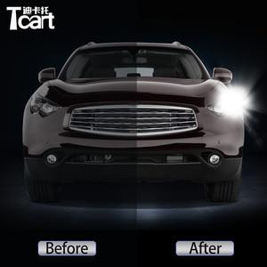 Image 2 - 2 في 1 Led drl ضوء النهار إشارة الانعطاف ، ملحقات السيارة ، إنفينيتي FX35 FX37 FX50 QX70 (S51) 2009 2017 ، 2 قطعة