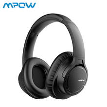 Mpow H7 Bluetooth Headphones Stereo Wireless Over-Ear Headphones with Microphone Memory-protein Ear Cushion for Cellphone Tablet mpow h1 wireless headphones hd hifi stereo noise cancelling headphones with microphone over ear bluetooth headset for iphone