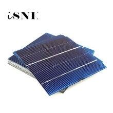 50 個太陽電池 2.1A 1.05 ワット 78*77 ミリメートル Diy ソーラーバッテリー充電器 Painel 太陽パネル Diy 多結晶太陽光発電モジュール