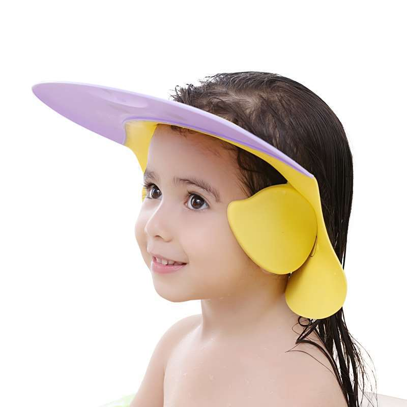Kids Wash With Water Retaining Cap Children Shampoo Slimming Water Hood Doll Shampoo Anti-Ear Influent Useful Product Convenient