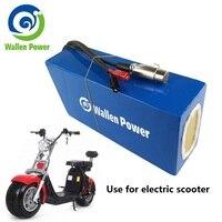 Electric Bike Battery 60V 20Ah 30Ah Electric Scooter Battery Lithium ion Battery for Electric Bicycle 1800W 1500W 1200W Motor