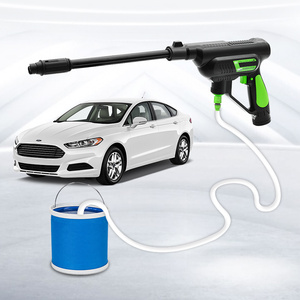 YueCar многофункциональная мойка высокого давления для автомобиля очиститель водяного шланга литиевая батарея мойка автомобиля домашний сад