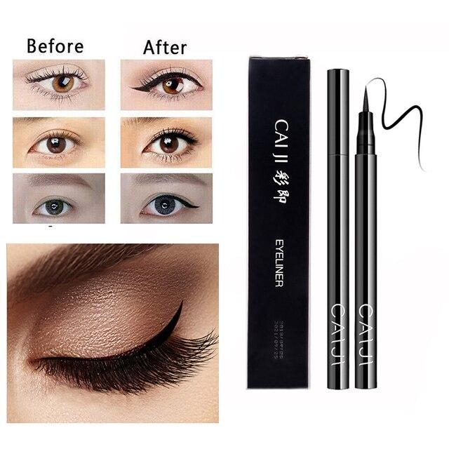2019 Black Eyeliner Quick-drying Waterproof Pen Accurate Long-lasting Not Blooming Liquid Lady Eyeliner Smooth Makeup Tool TSLM2 3