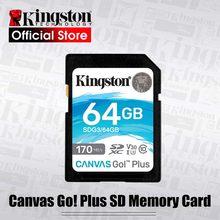 الأصلي كينغستون SD بطاقة 128GB 64GB 32GB cartao دي ميموريال 256gb Class10 uhs-i U3 4K فلاش بطاقة الذاكرة ل SLR كاميرات طائرات بدون طيار
